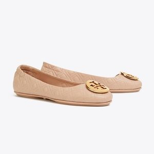 Tory Burch MINNIE TRAVEL BALLET FLAT, QUILTED